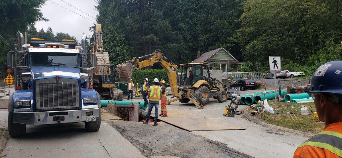Albert Street Sanitary Trunk Sewer Extension-Seaforth Way Section