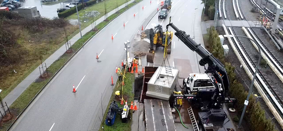 BC Hydro Ductbank Work For Translink
